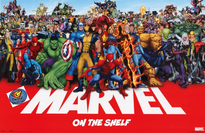 marvel-ON THE SHELF