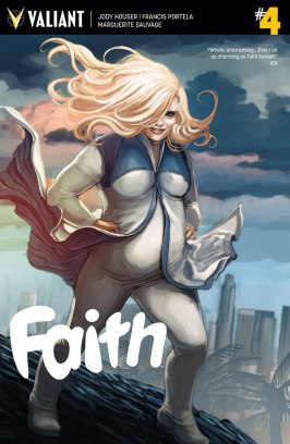 Faith #4 by Jody Houser