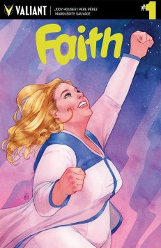 FAITH (ONGOING) #1 – Cover A by Kevin Wada