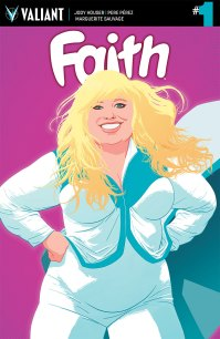 FAITH (ONGOING) #1 – Variant Cover by Kano