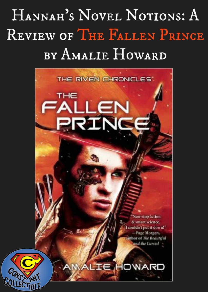 Hannah's Novel Notions: A Review of The Fallen Prince by Amalie Howard
