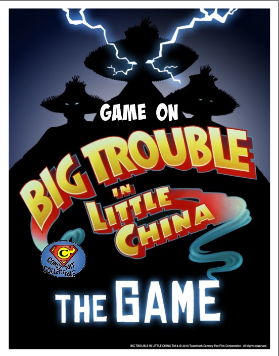 GO Big Trouble Little China
