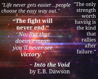 Quotes from Into the Void