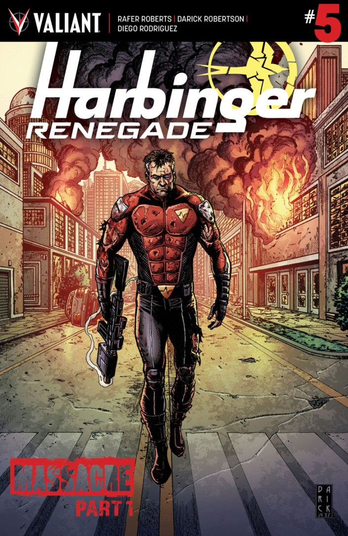HARBINGER RENEGADE #5