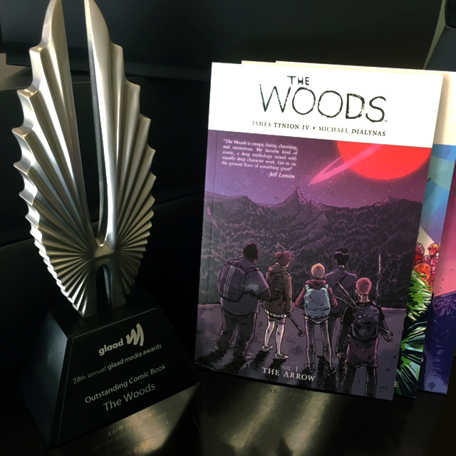 GLAAD Award The Woods