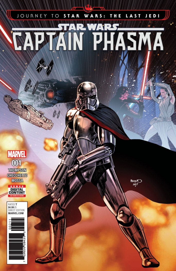 Star Wars Journey to Last Jedi  Captain Phasma #1