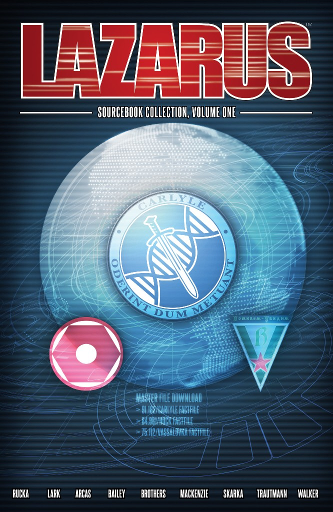 Lazarus Sourcebook Collection Vol. 1