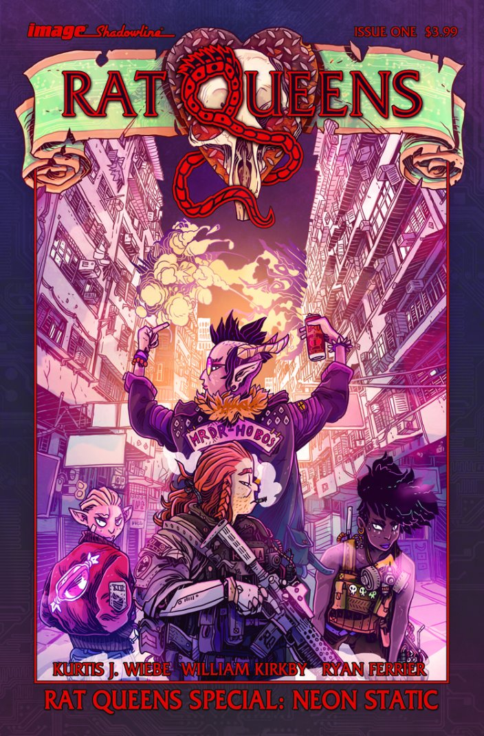RAT QUEENS SPECIAL: NEON STATIC AN ELECTRIC NEW ONE-SHOT
