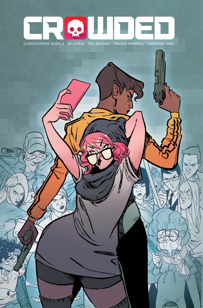 CROWDED #1 (2018) Cover A by Stein & Brandt
