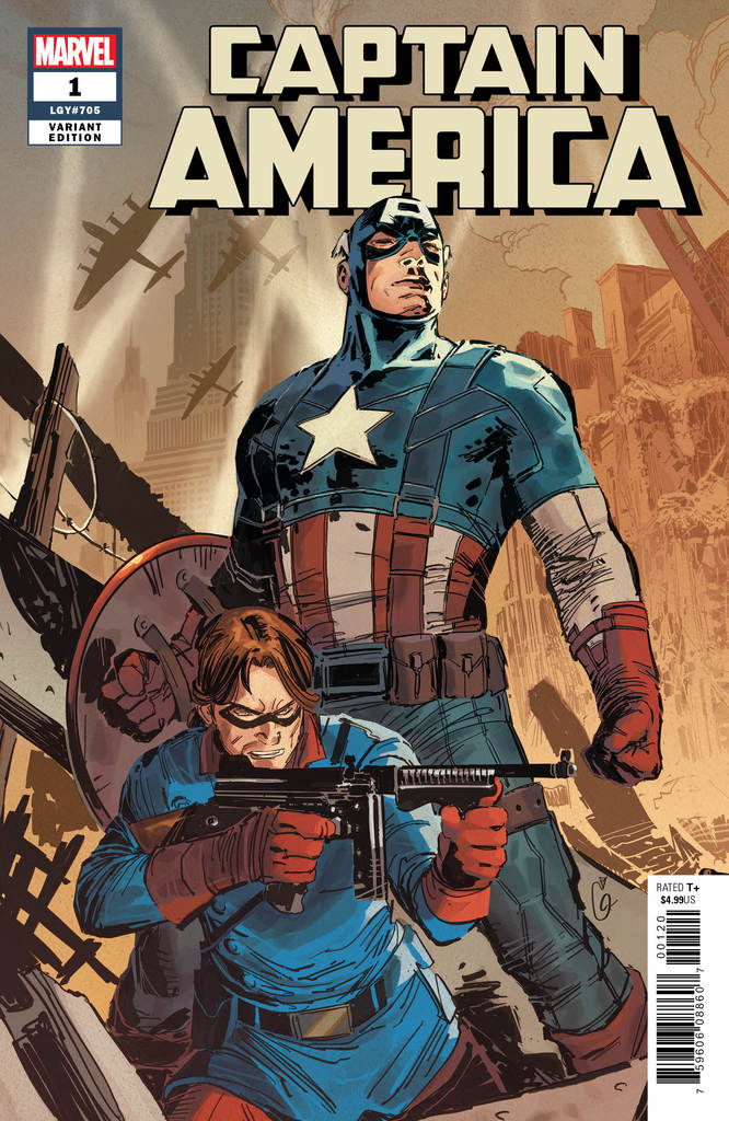 CAPTAIN AMERICA #1 (2018) Variant Art by Ron Garney!